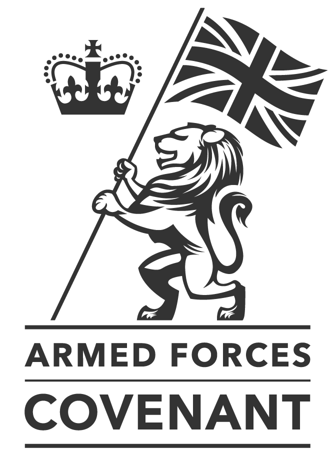enfield armed forces logo-your council